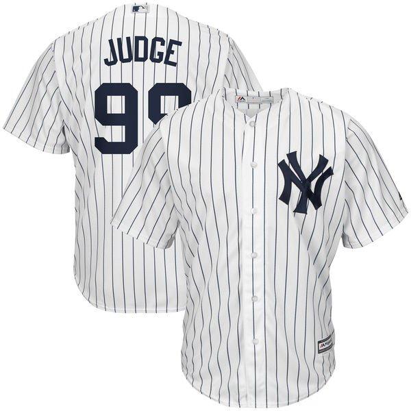 aaron judge jersey, aaron judge white pinstripe jersey, aaron judge yankees home jersey